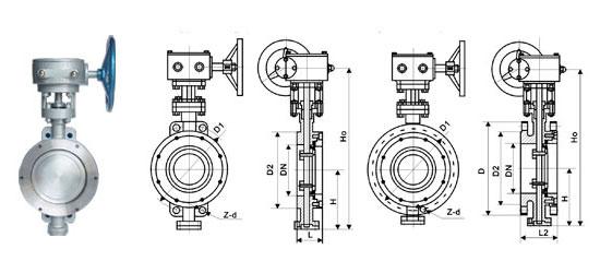 上海d373h对夹式硬密封蝶阀生产厂图片